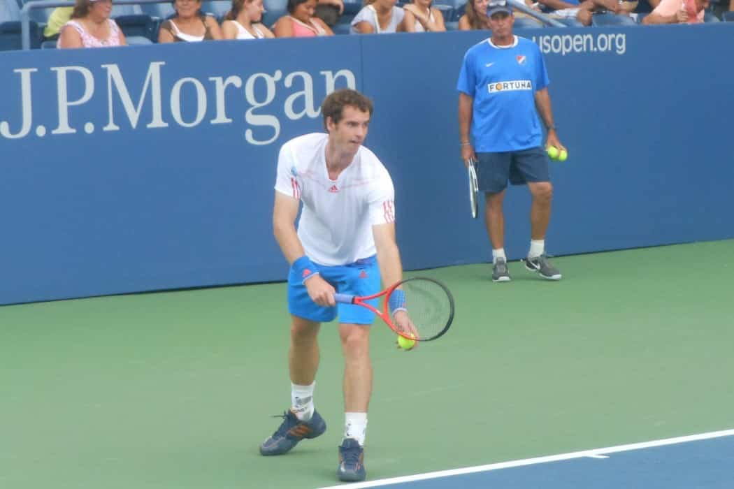 """Andy Murray with Lendl"" by Alexisrael - Own work. Licensed under CC BY-SA 3.0 via Wikimedia Commons - http://commons.wikimedia.org/wiki/File:Andy_Murray_with_Lendl.JPG#mediaviewer/File:Andy_Murray_with_Lendl.JPG"
