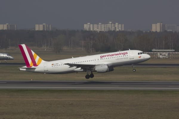 A file picture of an Germanwings Airbus A320 registration